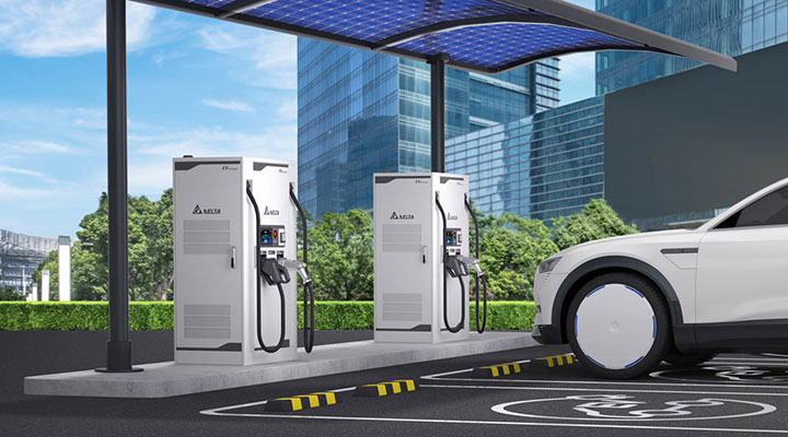 DC City Charger - Charge with up to 100kW