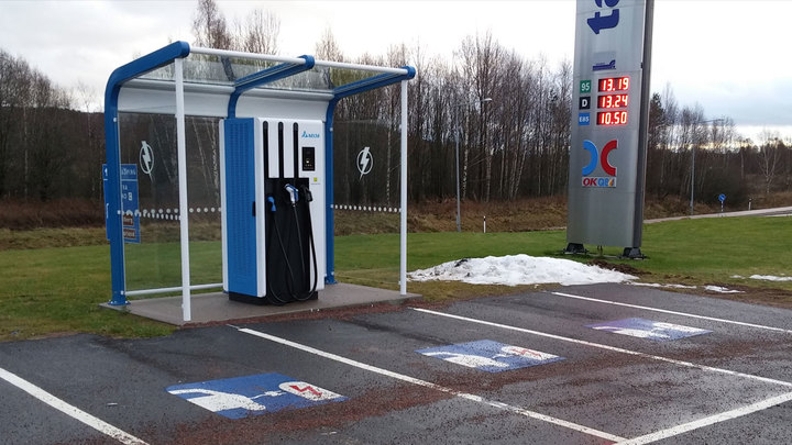 commercial ultra fast charging