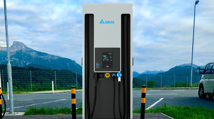 Ultra Fast Charger - Charge with up to 200kW
